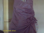 bridesmaid dress never been worn paid 130 sell 50 bargin!!!